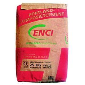 cement, zak 25 kg-0