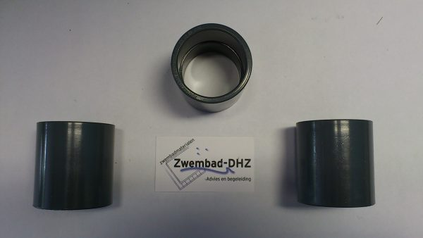 PVC Sok 50 mm gelijmd PN16-0