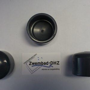 PVC Eindkap 50 mm gelijmd PN16-0