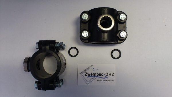 """PVC Aanboorzadel 50 mm x 1/2""""-0"""