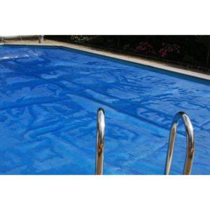 Zomerafdekking voor Timberpool zwembad 8,4 x 4,9 mtr ovaal-0