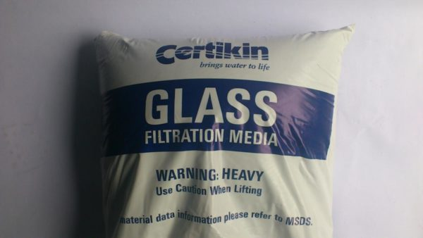 Filterglas (Eco Glass Filter Media) zak 25 kg type 1 (fijn) -0