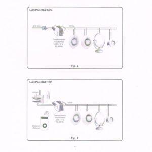 Astral Lumiplus handbediening (drukknop) (UITLOPEND ARTIKEL)-541