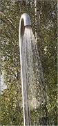 """Tuindouche van Jee-O : gepolijst RVS, type """"original"""" (warm en koud water)-0"""