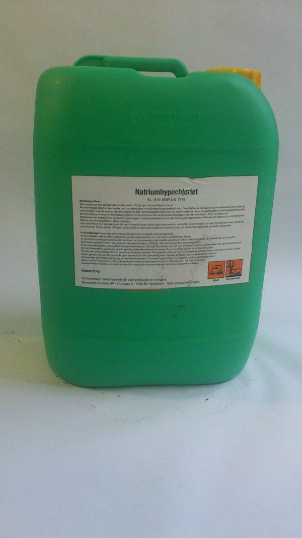 Vloeibaar chloor / 25 liter (natriumhypochloriet)-0