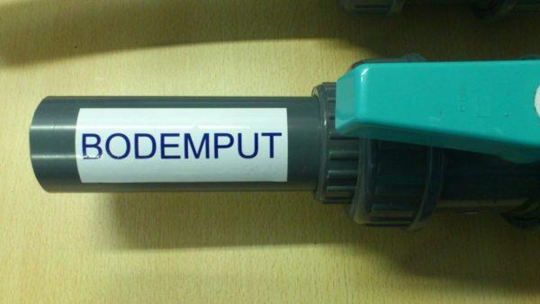 """Zwembad sticker """"BODEMPUT"""" (geen verzendkosten)-0"""