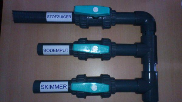 "Zwembad sticker ""STOFZUIGER"" (geen verzendkosten)-928"