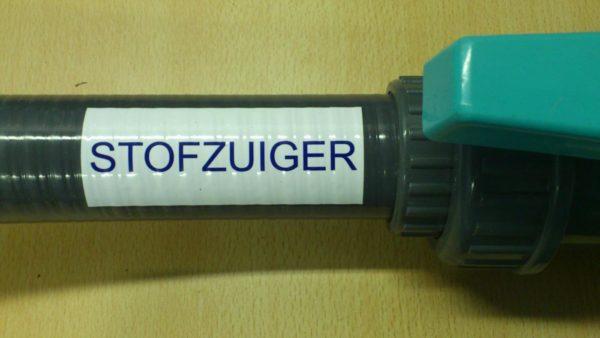 "Zwembad sticker ""STOFZUIGER"" (geen verzendkosten)-0"