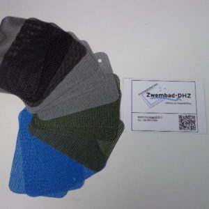 bladernet van pvc / polyester (diverse kleuren verkrijgbaar)-2222