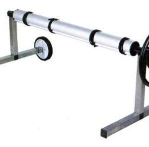 Universeel telescopisch oprolsysteem, verrijdbaar / lengte tot 5,7 mtr-0