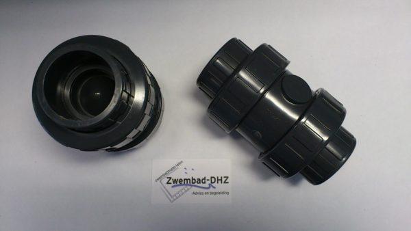 PVC Terugslagklep PN10 63 mm (veerbelast)-0