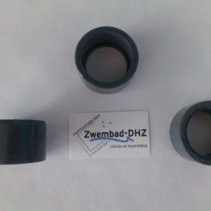 PVC verloopring 50x40 mm gelijmd PN16-0