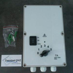 Cli-mate toerenregelaar 7 Amp. (5 standen)-0