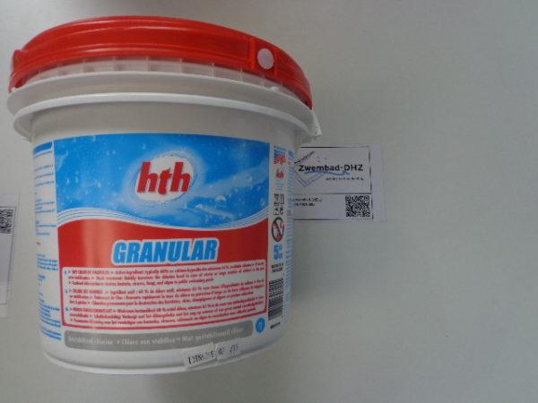 HTH chloorgranulaat 65% / 5 kg (anorganisch) MET STAFFELKORTING-0