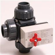 gemotoriseerde 3-weg kogelkraan / 50 mm / Multivoltage / L-kogel-0