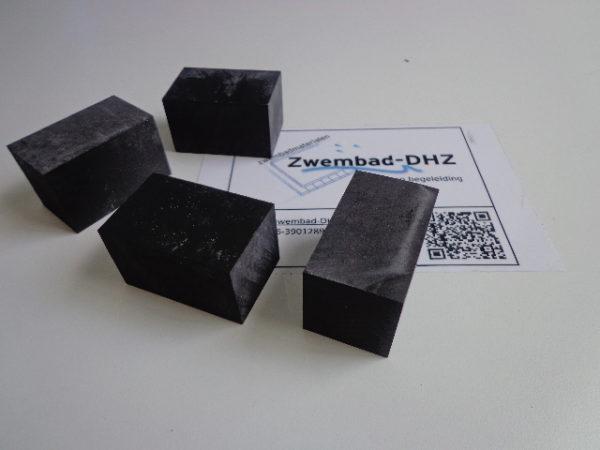 Rubber blok voor rooster (per stuk)-0
