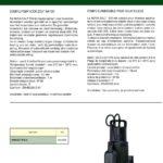 DAB dompelpomp type NOVA SALT (geschikt voor zoutwater) 230V-2094