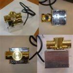 Motorische open/dicht klep messing 1″ – 230V-0