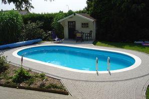 Pomaz Pools ovaal 8.20 mtr x 4,20 mtr 1,2 mtr / 35m3 inhoud-2055