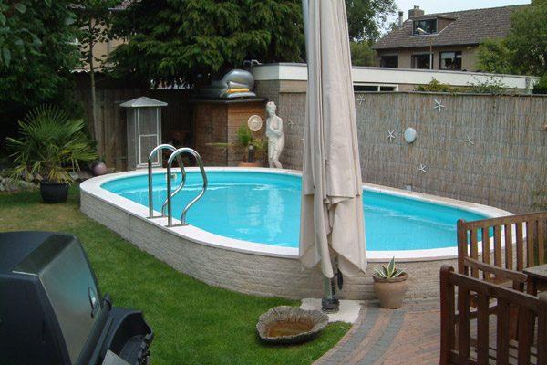 Pomaz Pools ovaal 7.50 mtr x 3,50 mtr 1,5 mtr / 33m3 inhoud-2057