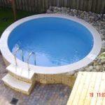 Pomaz Pools rond 3,50 mtr x 1,2 mtr / 11m3 inhoud-2003
