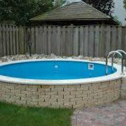 Pomaz Pools rond 5.00 mtr x 1,5 mtr / 29m3 inhoud-0