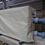 Afdekhoes voor warmtepomp met opbergzak! Nederlands produkt van hoge kwaliteit-0