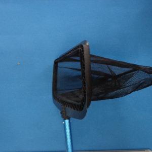 Bodemschepnet met spatel, kunststof (zwart)-2220