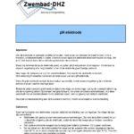 Redox sonde / elektrode (Geschikt voor Meiblue) -2357