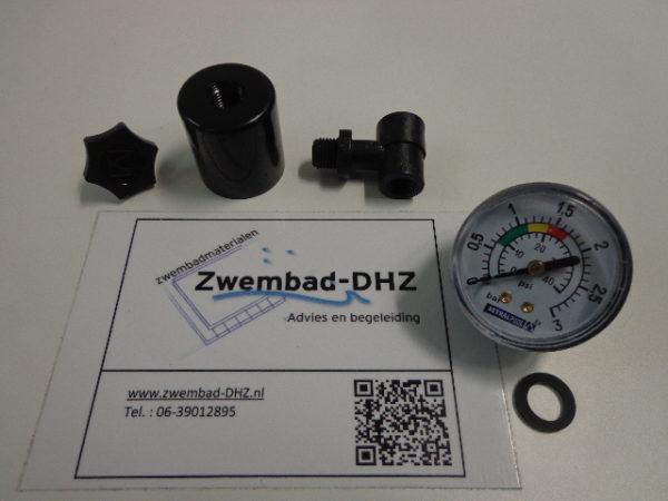 "Astral manometer (drukmeter) set 0 - 3 bar / aansluiting 1/8"" draad-0"