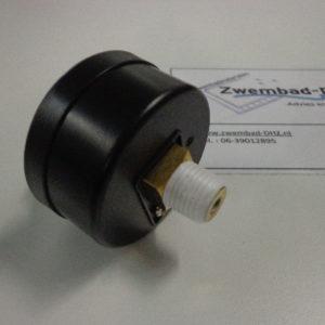 "Hayward manometer (drukmeter) 0 - 4 bar / aansluiting 1/4"" draad-2401"