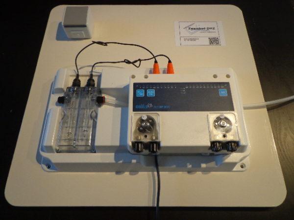 """Meiblue pH / Redox doseerunit """"basic Pro"""" (met flowsensor) VOORGEMONTEERD PLUG & PLAY-0"""
