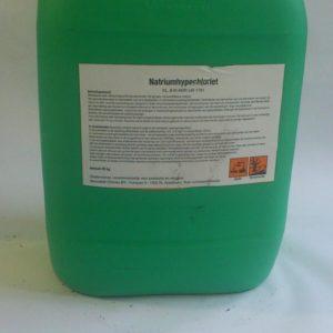 pallet-voordeel vloeibaar chloor (12 cans van 25 liter) incl. thuisbezorging-0