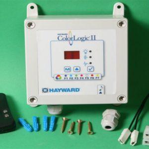 Hayward afstandbediening met ontvanger (tbv LED RGB / colorlogic II)-0