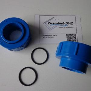Wartel voor Aqualux warmtepomp met o-ring, prijs per stuk-0