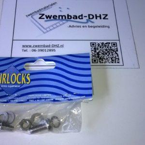 Fairlocks : schroevenset (vervangings-onderdeel P-9, P-10, P-11 en P-12)-0
