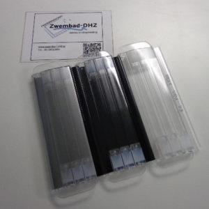 OVERDRIVE lamellenafdekking (Polycarbonaat) solar Alu look / prijs per m2:-0