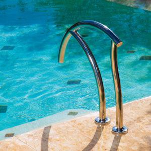 Designer handrail (hoog) / RVS-304 (van Interfab)-3048