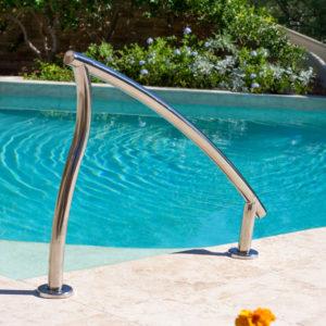 Designer zij-handrail voor inlooptrap (van Interfab)-3072