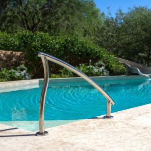 Designer zij-handrail voor inlooptrap (van Interfab)-0