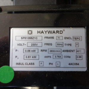 Hayward PowerFlo zwembadpomp / 0,55kW / 230V-3925
