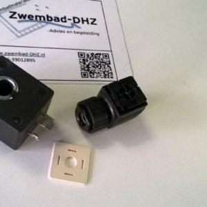 "Stekkeraansluiting voor magneetventiel 1/2"" - 230V-0"