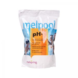 Melpool pH minus / 2 kg Zip Lock zak-0