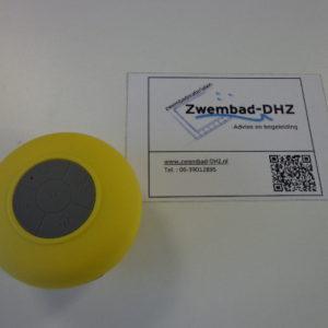 Shower speaker (kleur geel)-0