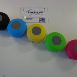 Shower speaker (kleur blauw)-3175