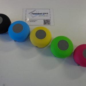 Shower speaker (kleur zwart) NOG 1 LEVERBAAR!-3178