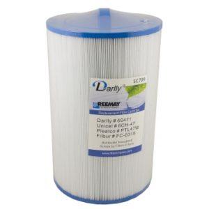 Darlly SC709: Filterdiameter 15 cm / lengte 23 cm / top handle / bodem 3,8 cm fine male thread (MET STAFFELKORTING!)-0