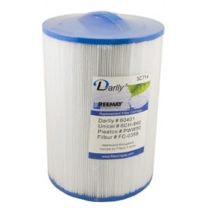 Darlly SC714: Filterdiameter 15 cm / lengte 21 cm / top handle / bodem 3,8 cm COARSE male thread (MET STAFFELKORTING!)-0