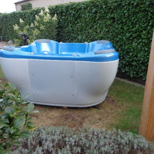 Teuco portable spa model 609 HR (showroommodel!) incl. installatie en bezorging in NL-4331