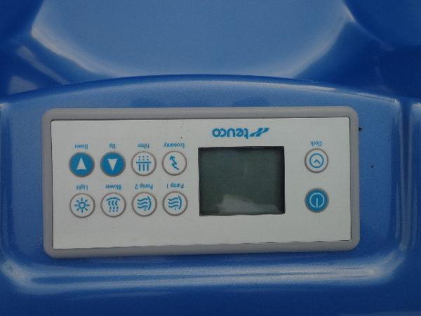 Teuco portable spa model 609 HR (showroommodel!) incl. installatie en bezorging in NL-4334